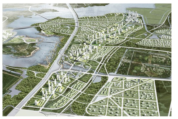 Archi-Tectonics participates in the Jingzhou Competition