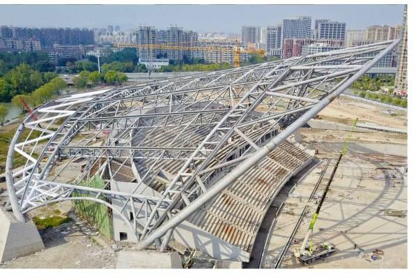 Construction updates from Hangzhou!