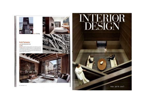 512 GW Townhouse published in Interior Design, October 2021 Issue